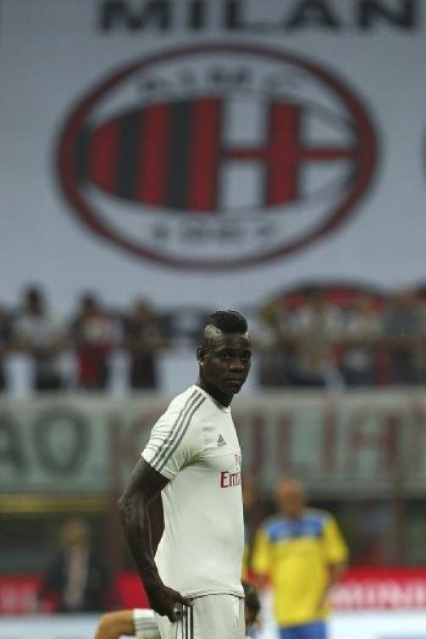 Se espera el debut de Mario Balotelli en su segunda etapa en el Milán Foto:Getty Images