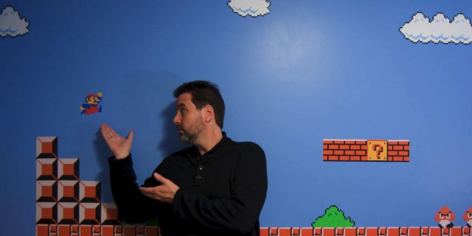 El culto a este personaje ha llevado seguidores a hacer casas dedicadas al videojuego Foto:Flicker