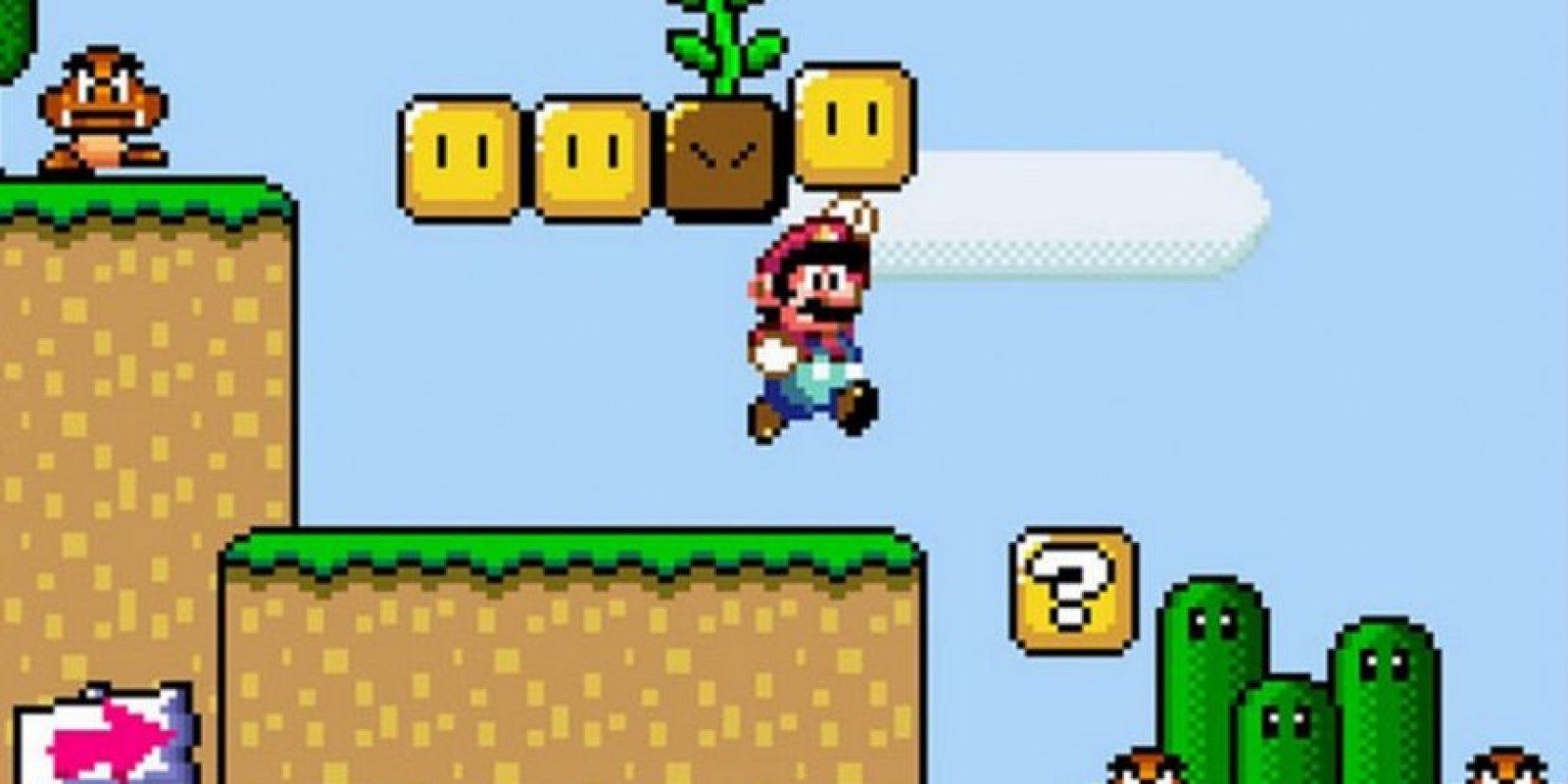 """12. """"Super Mario Bros."""" es uno de los pocos videojuegos que no aburre. Los jugadores pueden pasar días, meses y años jugando y volviendo a jugar sin dejar de divertirse Foto:Nintendo"""