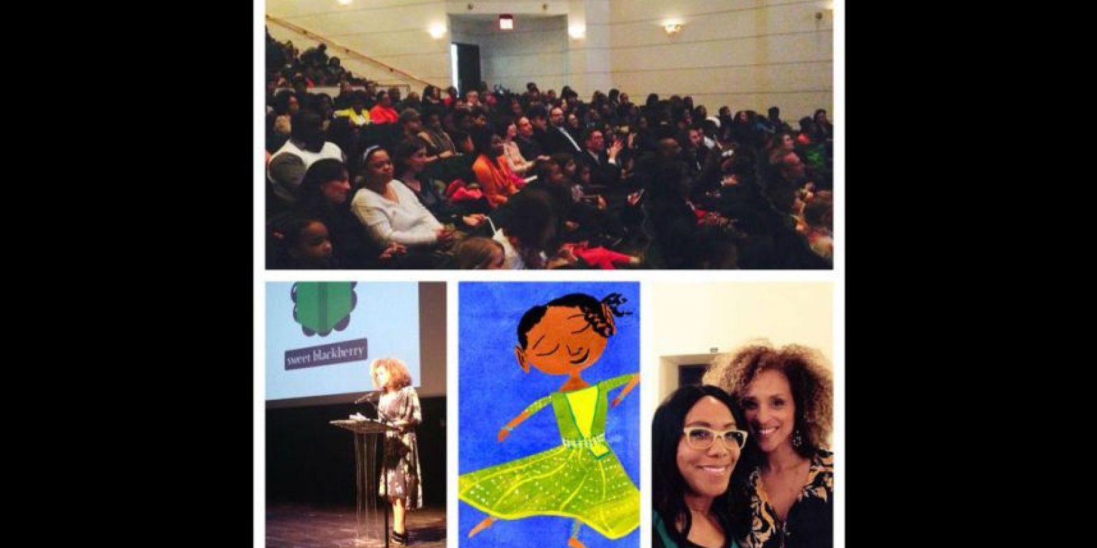 Con la que promueve la cultura afroamericana entre niños de escasos recursos.