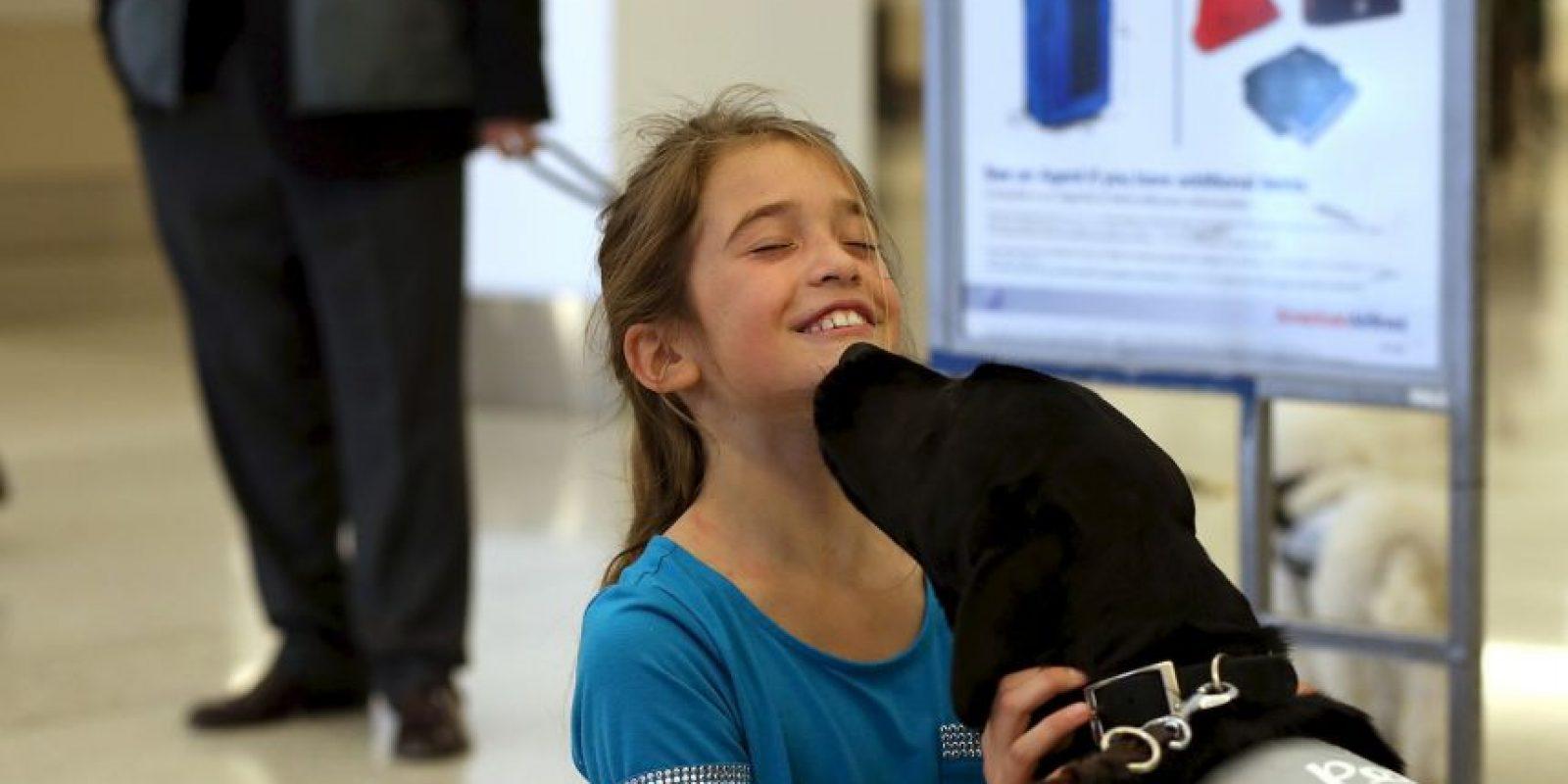 1. Mirar al perro a los ojos Foto:Getty Images