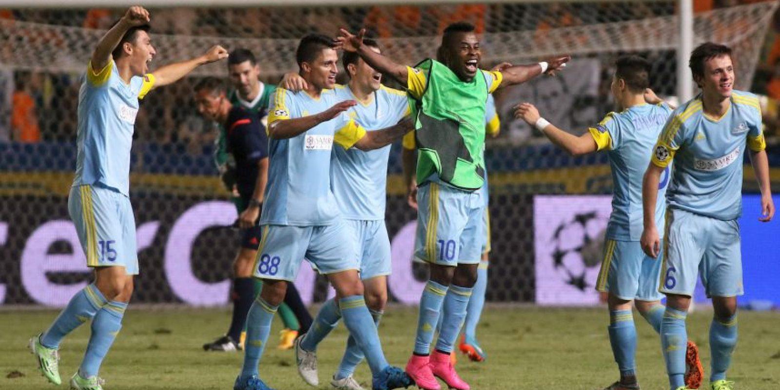 El club kazajo es uno de los más modestos del torneo Foto:Getty Images