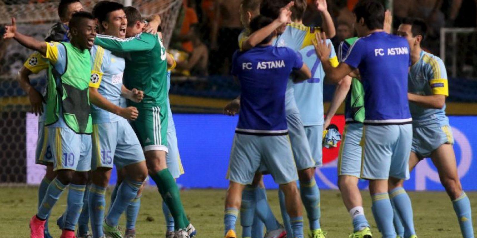 Es el primer equipo de su país que llega a la fase de grupos de la Champions Foto:Getty Images