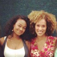"""Aquí en su reencuentro con Karyn Parsons (""""Hilary Banks"""") Foto:vía instagram.com/tatyanaali"""