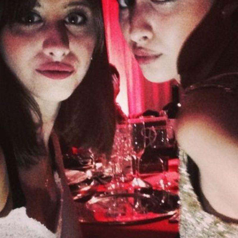 """María Sol Berecoechea y su hermana María Belén, quien interpretó a """"Belén Juárez"""", en la actualidad. Foto:vía instagram.com/solbereco"""