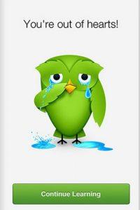 Les recuerda cuando no han realizado sus lecciones. Foto:Duolingo