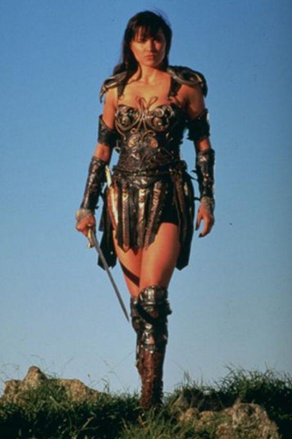 """Lucy Lawless, actriz estadounidense que dio vida a """"Xena: la princesa guerrera"""". Foto:IMDB"""
