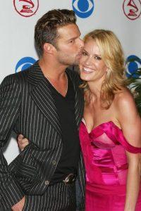Rebecca de Alba y Ricky Martin vivieron un noviazgo de casi 7 años. Foto:Getty Images