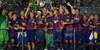 El equipo de Luis Enrique tuvo una temporada 2014/2015 de ensueño al ganar la Liga, Copa del Rey y la Champions League. Ya en la segunda mitad de este año se llevaron la Supercopa de Europa y aún les falta disputar el Mundial de Clubes. Foto:Getty Images