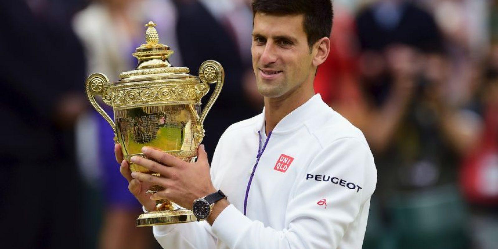 9. Wimbledon (2015). Derrotó a Roger Federer con marcadores 7–6(7–1), 6–7(10–12), 6–4, 6–3. Foto:Getty Images
