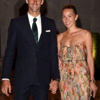 Lleva nueve años de relación con su esposa, Jelena Ristic. Se casaron en julio de 2014. Tres meses después nació su primer hijo, Stefan. Foto:Getty Images
