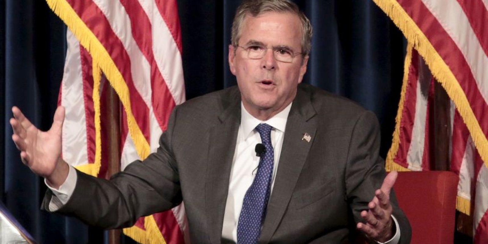 Es hijo del presidente número 41 de Estados Unidos, George Herbert Walker Bush. Foto:Getty Images