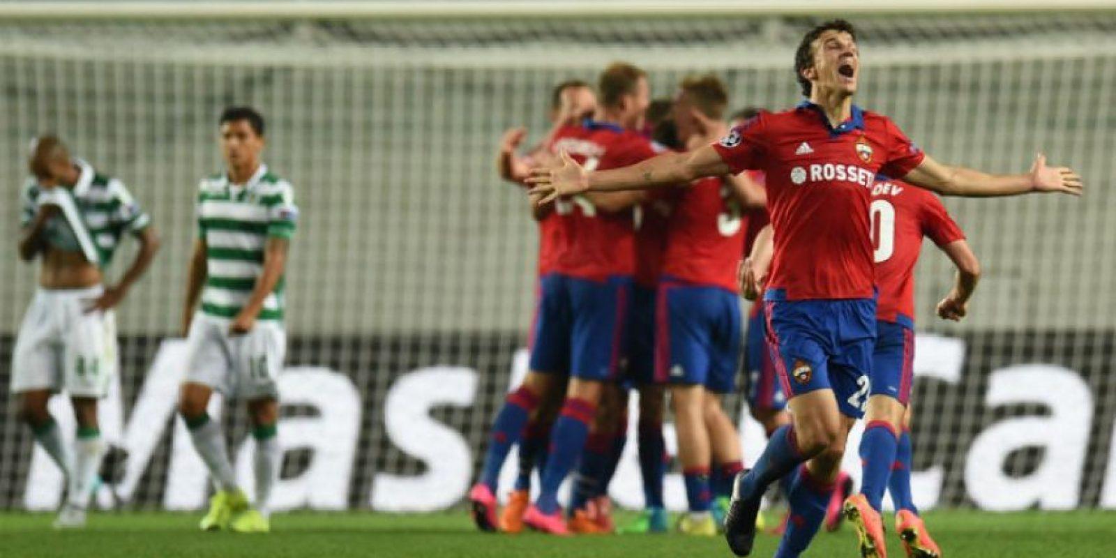 CSKA Moscú. Valor del plantel: 152.65 millones de euros Foto:Getty Images