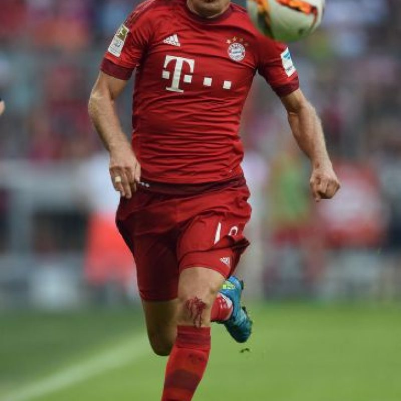 """Arjen Robben: """"Para mí Messi es el mejor del mundo, no puedo decir más. Él es el mejor y yo no"""". Foto:Getty Images"""