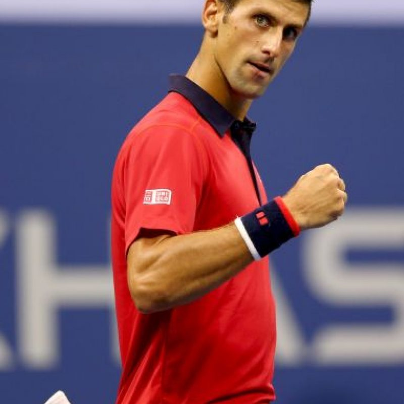 Su comida preferida son las pizzas y panqués que prepara su padre, Srdjan Djokovic, en su restaurant. Foto:Getty Images