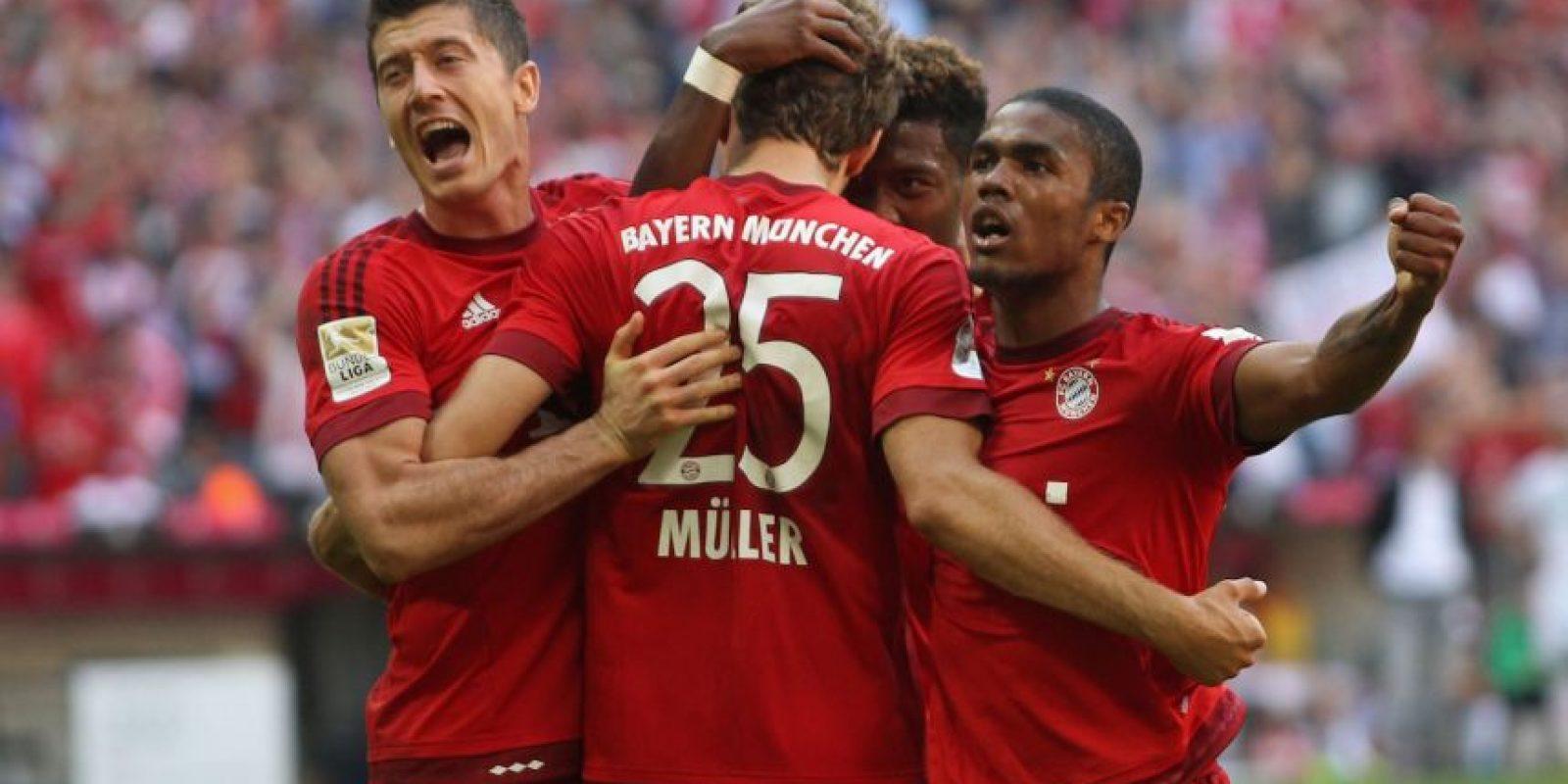 3. Bayern Munich (Alemania) / 559.25 millones de euros. Foto:Getty Images