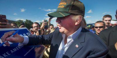 Ha causado controversia a nivel mundial por sus comentarios en contra de los migrantes mexicanos. Foto:Getty Images