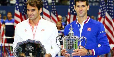 10. Abierto de Estados Unidos (2015). Volvió a vencer a Roger Federer 6–4, 5–7, 6–4, 6–4. Foto:Getty Images