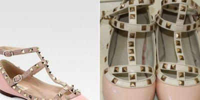 Los rockstuds de Valentino también han sido inmensamente copiados. Foto:vía Nordstrom