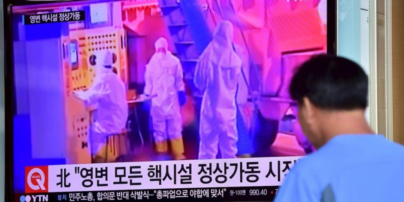 """""""Corea del Norte ya tiene entre 10 y 15 bombas nucleares"""" Foto:AFP"""