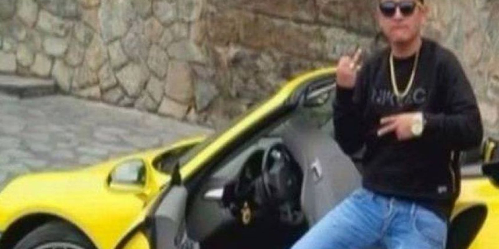 Este fue el Porsche que quedó destruido Foto:Vía facebook.com/GeraldOropezaOficial