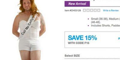 """3.- Los polémicos disfraces de la compañía Spirit Halloween que incluyen todo el outfit para lucir igual a """"Cait"""" Foto:vía anytimecustumes.com"""