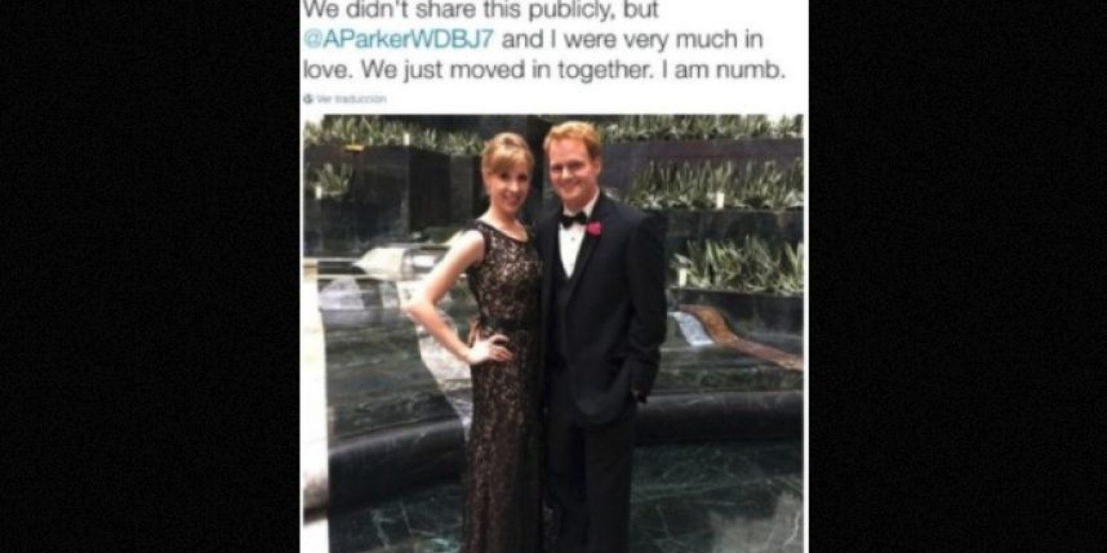 Fueron asesinados hace dos semanas en Estados Unidos mientras transmitían en vivo Foto:Twitter.com-Archivo