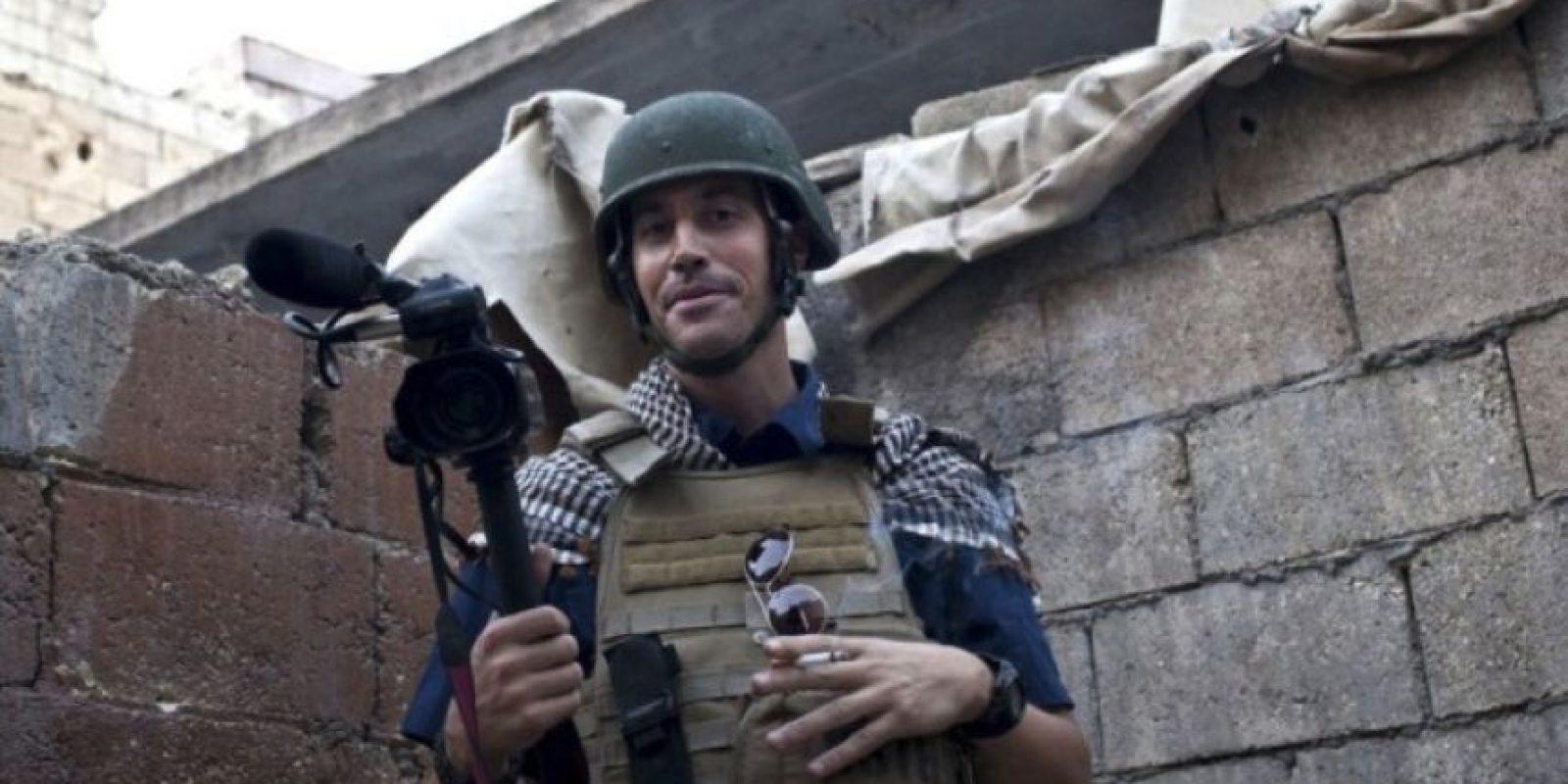El periodistas fue decapitado en agosto del pasado año. Su ejecución fue la primera de la serie de asesinatos que ha realizado ISIS y que ha divulgado en videos. Foto:AFP