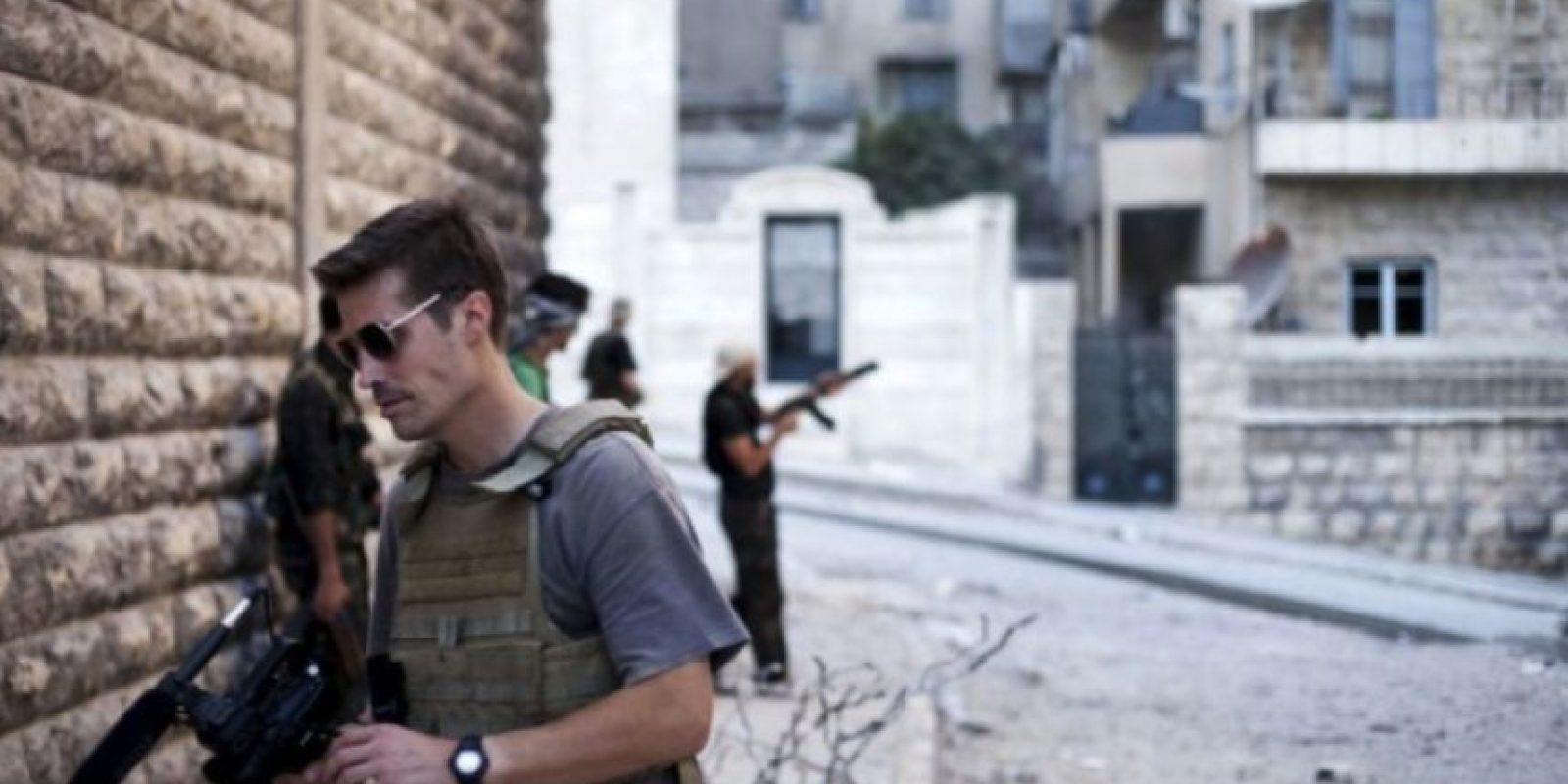 El periodista estadounidense cubría la guerra civil en Siria cuando fue capturado por el grupo terrorista Estado Islámico en 2012. Foto:AFP