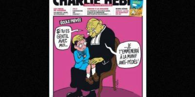 En represión por sus dibujos sobre Mahoma, algo que ellos consideraron una ofensa Foto:Vía: www.facebook.com/CharlieHebdoOfficiel