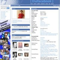 2005. Las comparaciones con MySpace no se hicieron esperar. Foto:Facebook.com
