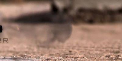 Una bala calibre 50 también se enfrentó al iPhone. Foto:vía FullMag / YouTube