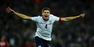 7. Steven Gerrard – Inglaterra Foto:Getty Images