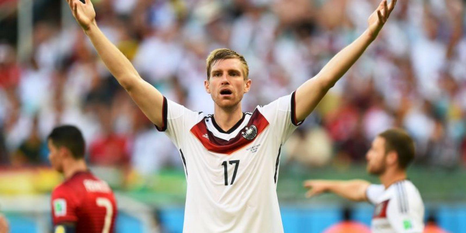 9. Per Mertesacker – Alemania Foto:Getty Images