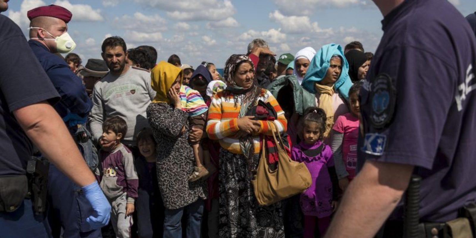 Estos han arriesgado sus vidas para llegar a Europa. Foto:Getty Images