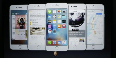 Sistema operativo: iOS 9. Foto: Getty Images