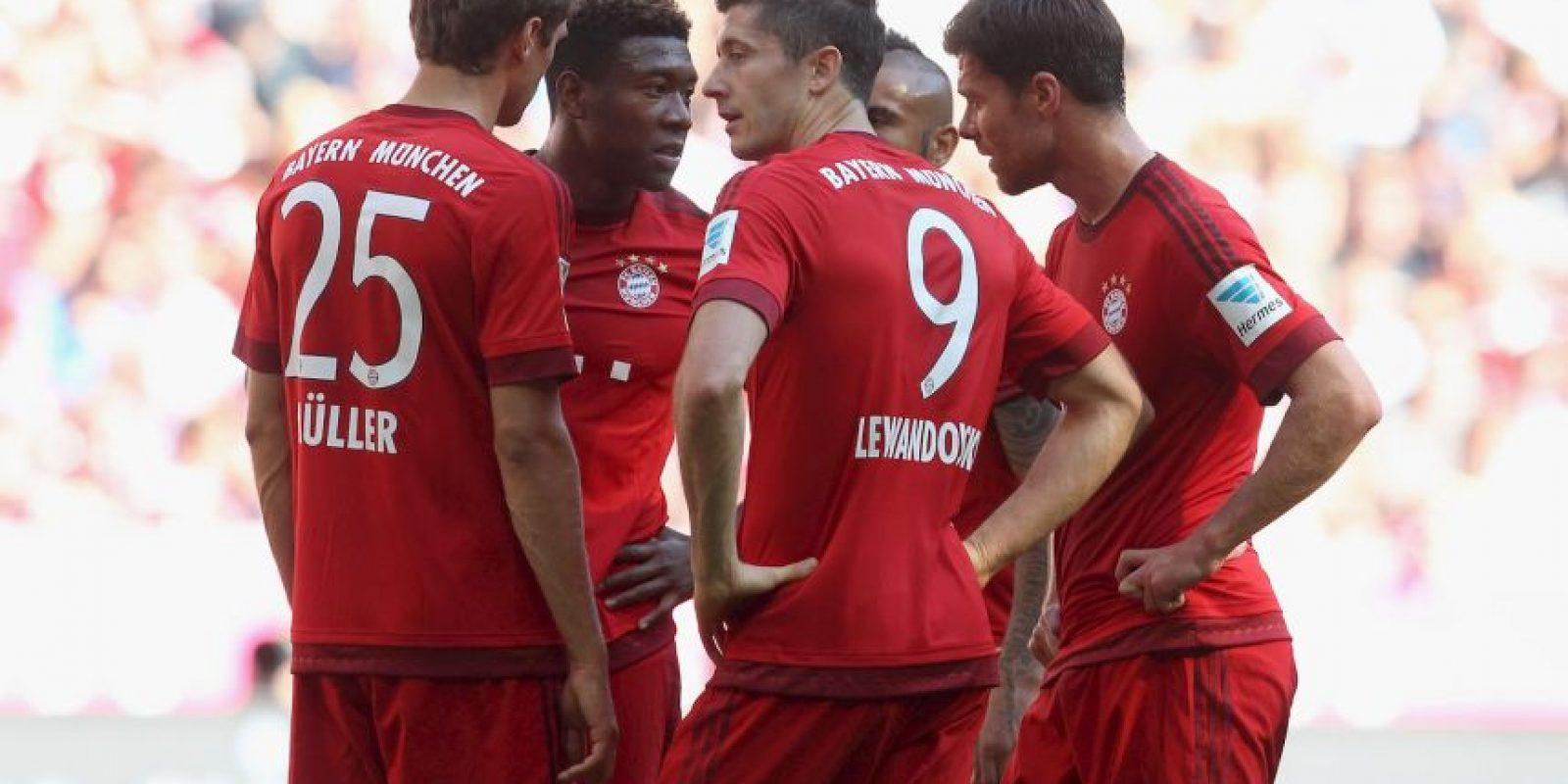 2. Bayern Múnich Foto:Getty Images