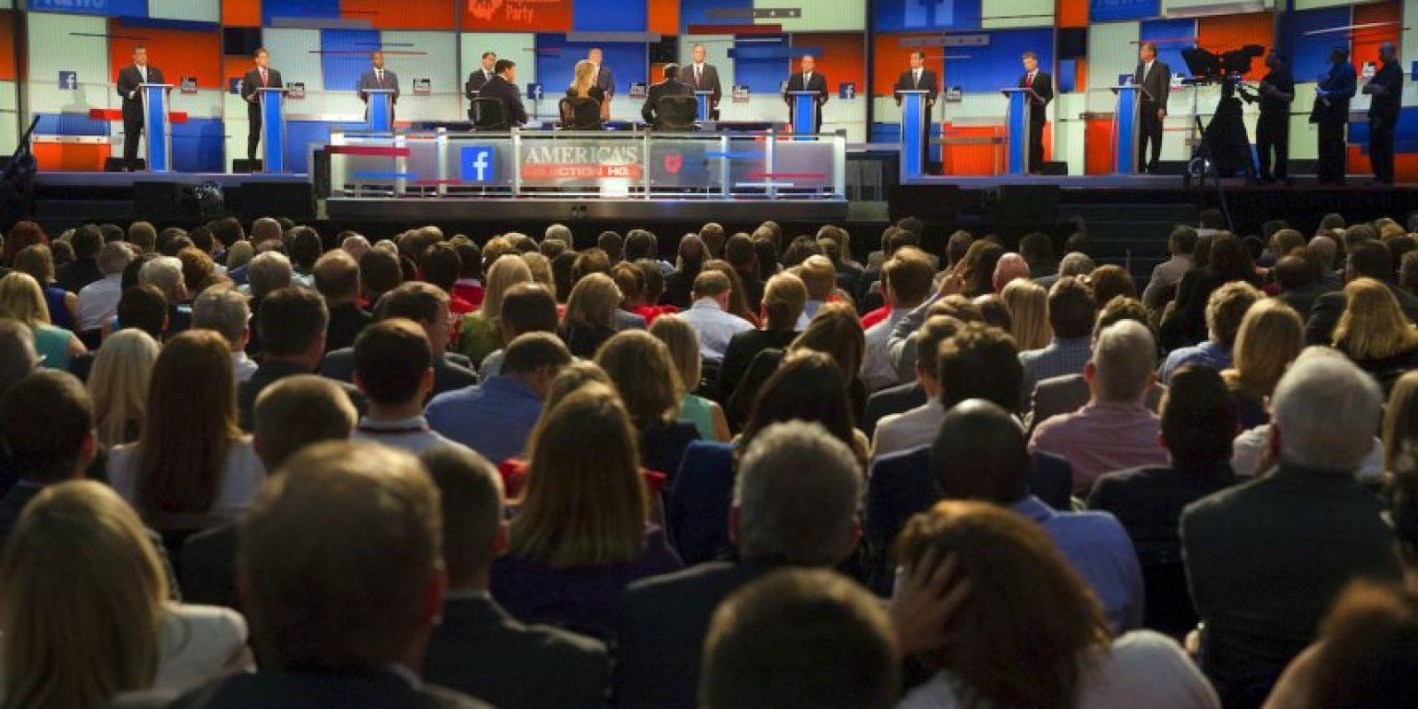 8. En este debate se medirá el progreso de los candidatos más fuertes. Foto:AP