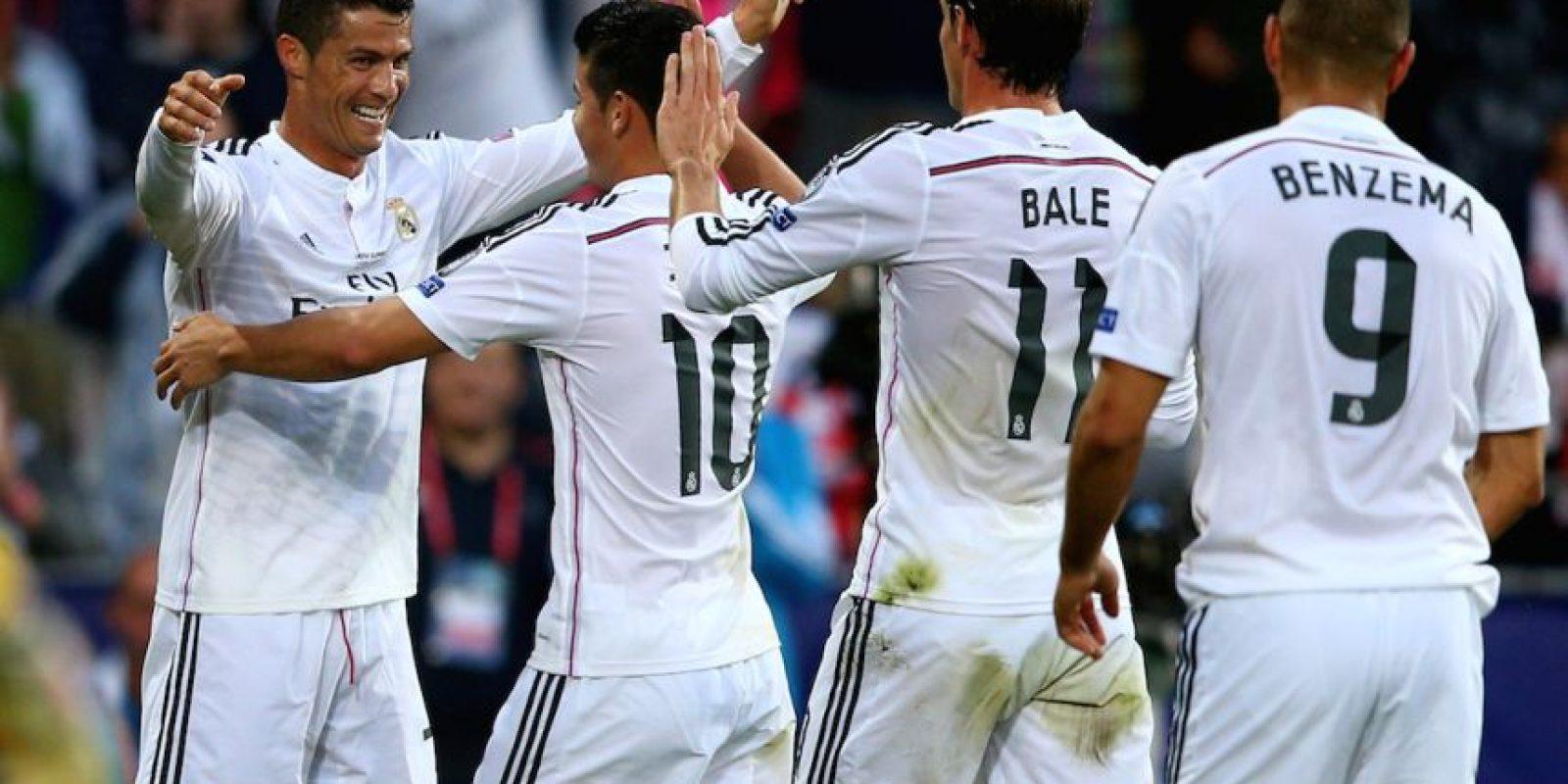 """Los """"Merengues"""" calificaron a esta edición al quedar en segundo lugar en la Liga BBVA la temporada pasada. Foto:Getty Images"""