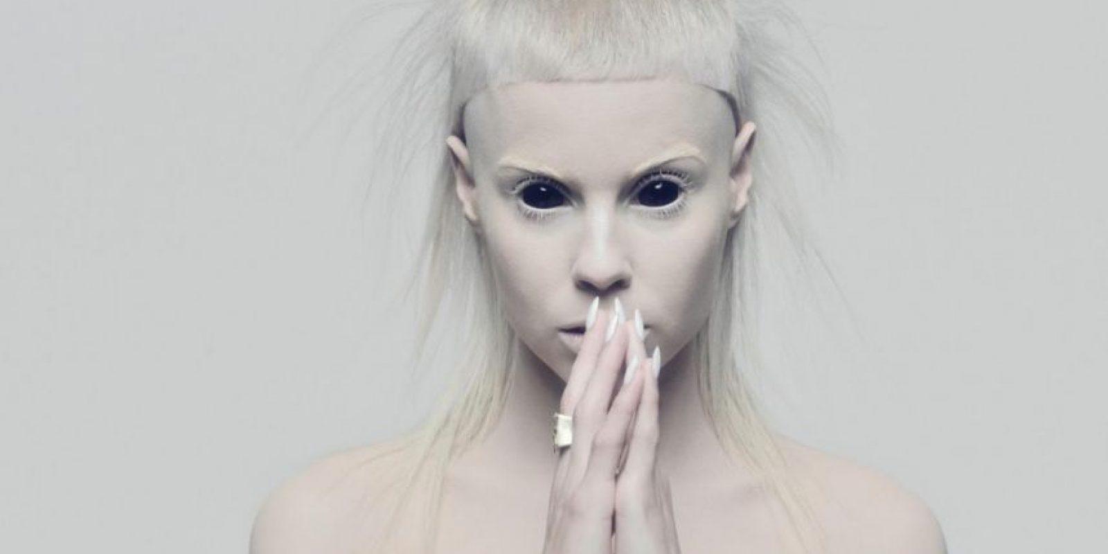 """Se parece a Yolandi Visser, cantante de """"Die Antwoord"""". Foto:vía Die Antwoord"""