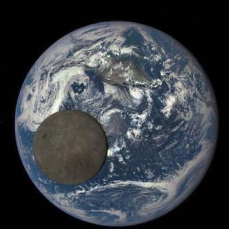 Así luce el lado oscuro de la Luna iluminado por el sol Foto:Instagram.com/NASA