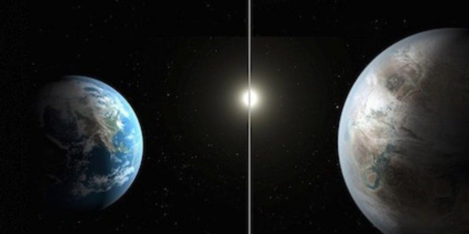 """El planeta Kepler – 452b, el planeta """"gemelo"""" de la Tierra Foto:Instagram.com/NASA"""