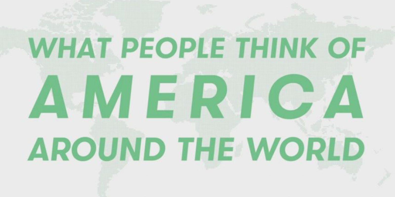 Personas de diversos países ofrecieron su opinión de Estados Unidos. Foto:Vía Youtube Cut Video