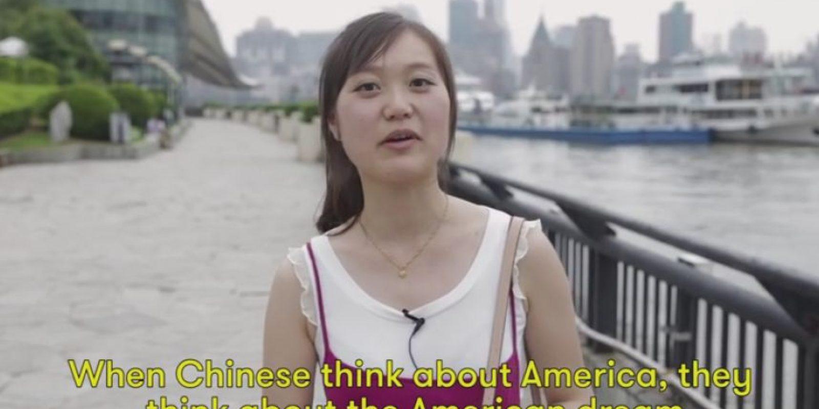 El sueño americano también salió a relucir entre las percepciones sobre Estados Unidos. Foto:Vía Youtube Cut Video