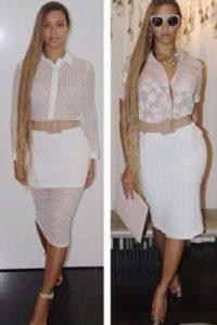 Beyoncé Foto:Vía Damnsel