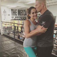 Actualmente, es pareja de John Cena, también luchador de la WWE. Foto:Vía instagram.com/thenikkibella