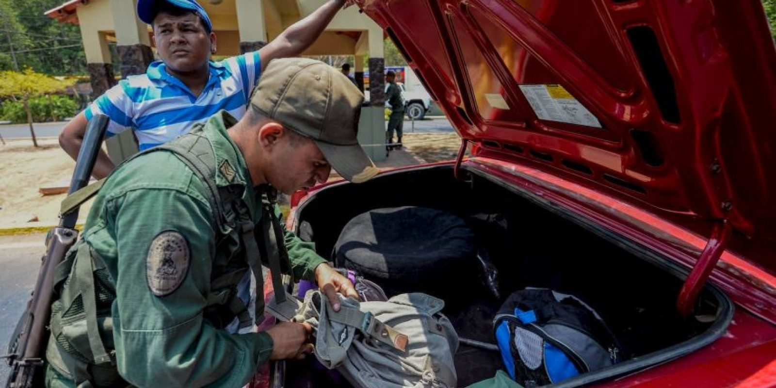 El pasado 19 de agosto, el presidente Nicolás Maduro decretó el cierre de fronteras en el estado de Táchira Foto:AFP