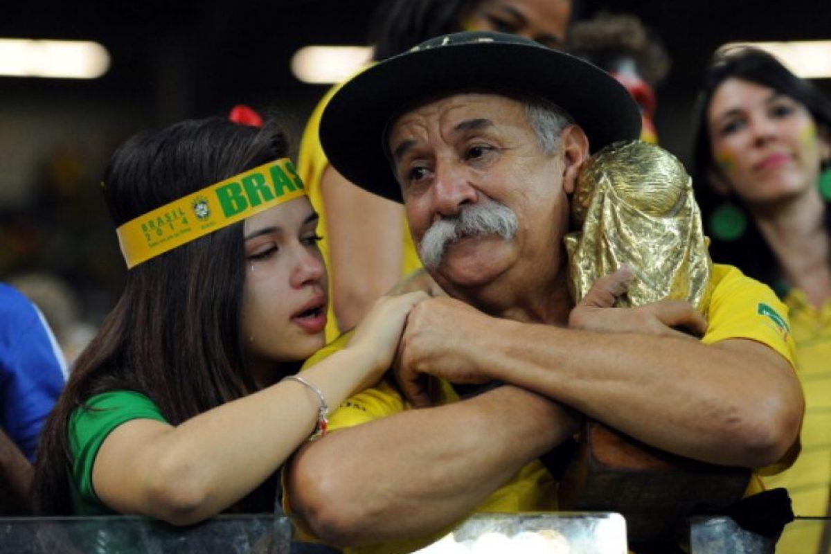 Se hizo famoso por acompañar a la Selección de Brasil en todas las competiciones de los últimos años. Foto:Getty Images