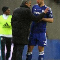 En 2013 volvió a Chelsea y además de ganar la Copa de la Liga, se coronó de nuevo en la Premier League (2015). Foto:Getty Images