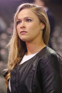 Ronda Rousey es la campeona de Peso Gallo de Mujeres de la UFC. Foto:Getty Images